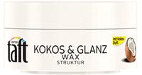3 wetter taft Wax Kokos & Glanz -  ВОСК ДЛЯ ВОЛОС С ЗАПАХОМ КОКОСА, ГЛЯНЦ, 75 МЛ