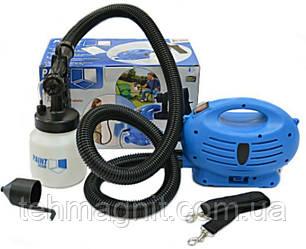Краскораспылитель, компрессор, краскопульт электрический, распылитель краски, Пейнт зум paint zoom