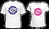 """Парные футболки """"Половинки №2"""""""