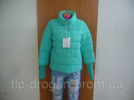 13a61c41364 Куртка женская молодежная брошка с довязом рукав! новая! в наличии! l xl xxl