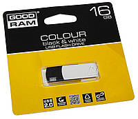 USB флеш накопитель GoodRam 16gb colour Black&White (PD16GH2GRCOKWR9)