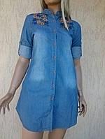 Женская длинная рубашка туника