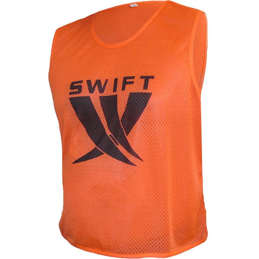 Манишка Swift Оранжевая (Сетка), размер XS, S, M, L