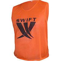 Манишка тренировочная SWIFT Training Bib оранжевая (сетка) размер XS,S,M,L, фото 1