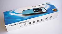 Видеорегистратор - зеркало заднего вида с камерой заднего вида, Vehicle Blackbox DVR-1 703 (803)