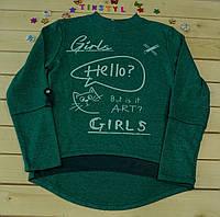 Модный свитшот  на девочку рост 134-176  см