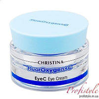 Осветляющий крем для зоны глаз с СПФ-15 Christina Fluoroxygen+C-EyeC 30 мл