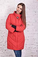 Женская длинная зимняя куртка сезона 2017-2018 - (модель Мадлен к-2)