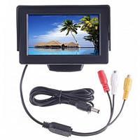 Дисплей автомобильный LCD 4.3'' для двух камер 043