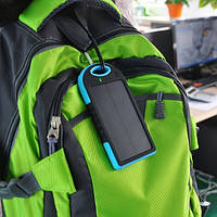 2 USB +СОЛНЕЧНАЯ батарея!! Power Bank Solar 20 000mAh (пауэр банк) Внешнее зарядное устройство- паурбанк, фото 3