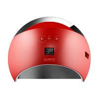 LED+UV лампа для маникюра SUN 6 48W Красная