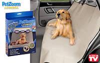 Подстилка в авто для домашних питомцев PETZOOM Lounge. Забудьте о грязи в машине!