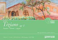 I1602232-BIA  Альбом для пастели Gamma Ingres 22,5х32,5см Bianco 15лист 160гр/м2, проклейка
