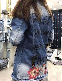 Джинсовые куртки, жилетки