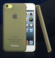 Yoobao Crystal Protecting case for iPhone 5C, black (PCI5C-CBK)