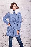 Теплая женская зимняя куртка-пальто от производителя сезона 2017-2018 - (модель Рита к-5)