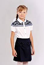 Стильная детская подростковая юбка с задорными бантиками