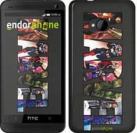 "Чехол на HTC One M7 Marvel v2 ""2826c-36"""