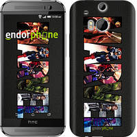 "Чехол на HTC One M8 dual sim Marvel v2 ""2826c-55"""