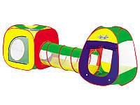 Палатка детская с трубой 889-7B