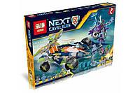 Конструктор Lepin 14035 Вездеход Аарона 4x4 (Аналог Lego Nexo Knights 70355)