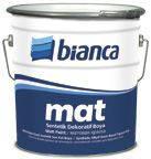 Краска матовая Bianca Mat 0.75л