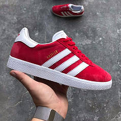 "Кроссовки Adidas Gazelle ""Red/White"""