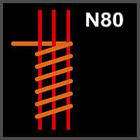 N80 Triple Fused Clapton Coil GeekVape (3*0.32X0,12)