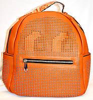Женский городской рюкзак серии Люкс 28*33 (рыжий)