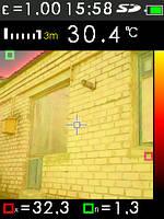 Обследование частного дома тепловизором CEM DT - 9868