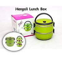 Ланч-бокс двойной Lunch-box Stainless Steel