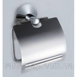 Держатель для туалетной бумаги хром