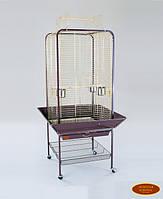 Вольер для средних и крупных попугаев 59(80)х59(80)х152 см