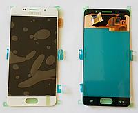 Оригинальный дисплей (модуль) + тачскрин (сенсор) Samsung Galaxy A3 2016 A310F A310H A310M A310N A310Y белый