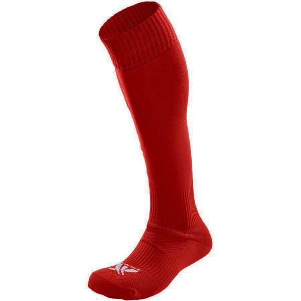 Гетры футбольные SWIFT красные, размер 27