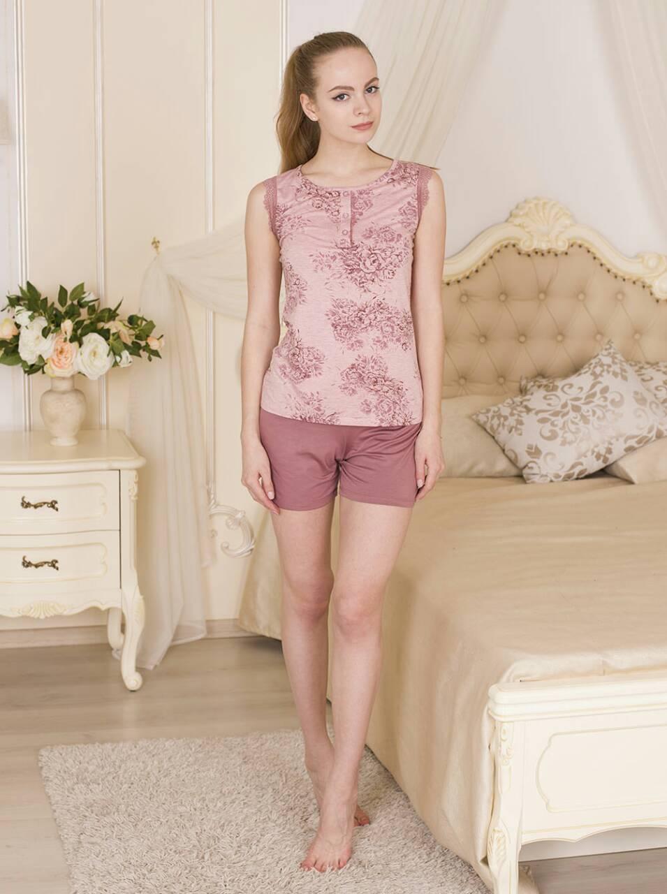 Комплект шорты с майкой ТМ Роксана коллекция Rose размер L