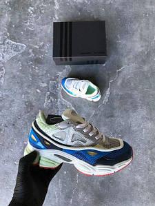 "Кроссовки женские Adidas Raf Simons Ozweego 2 ""Chalk White"", адидас раф симонс, реплика"