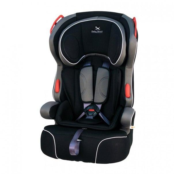 Автокресло Baby Shield Penguin Plus black