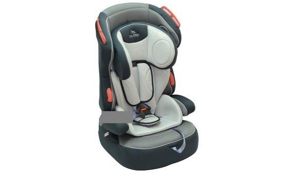 Автокресло Baby Shield Penguin Plus grey