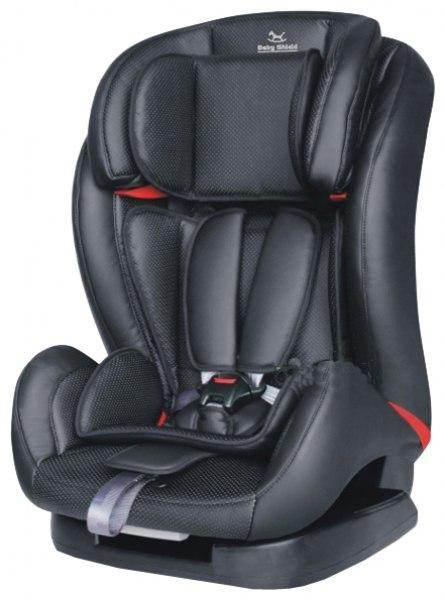 Автокресло Baby Shield Encore black (кожа)