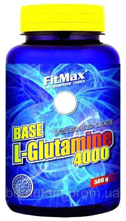 Base L-Glutamine 4000 500 гр FitMax