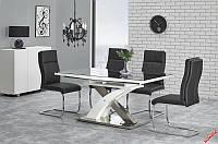 Стол раскладной SANDOR 2 160*90(черный) (Halmar)