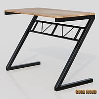 Стол письменный СтП-2, черный или белый, из дерева и металла