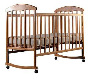 Кровать Наталка ОС ольха светлая