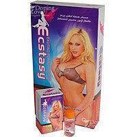 Возбуждающие капли + порошок для женщин Ecstasy, 9 фл по 10 мл + 9 пакетиков