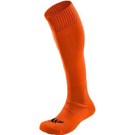 Гетры футбольные SWIFT неон-оранж, размер 27, фото 2