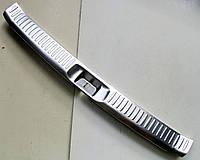 Toyota Highlander XU50 2014 накладка защитная на задний бампер внутренняя V1