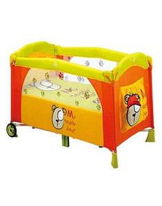 Манеж Baby Care M160 bear orange