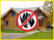Защита деревянных конструкций от огня и насекомых-древоточцев