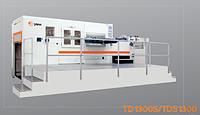 YAWA TD1300S - автоматический высекальный пресс (с удалением облоя)